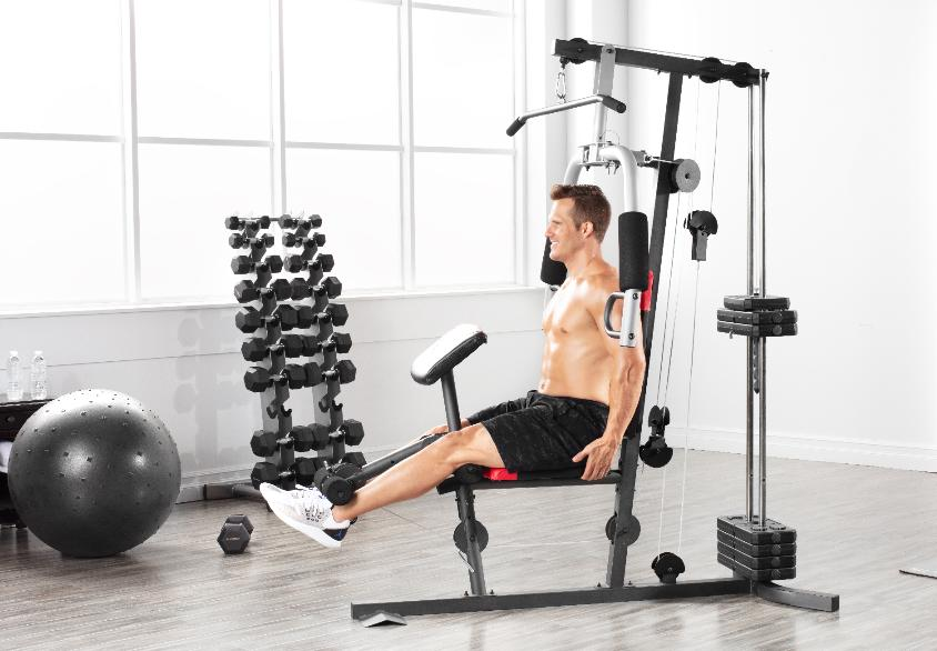 Home Gym Weight System w/ 214 Resistance Exercise Lifting Machine