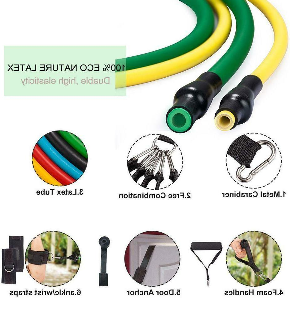 Home Resistance Bands Set Gym Exercise Equipments Fitness