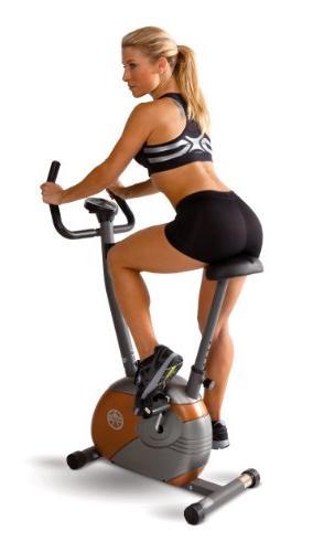 Marcy Upright Cycle Progress Mode
