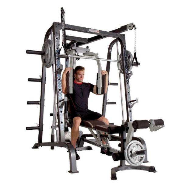 Marcy Deluxe Diamond Elite Smith Cage Home Workout Machine Total System