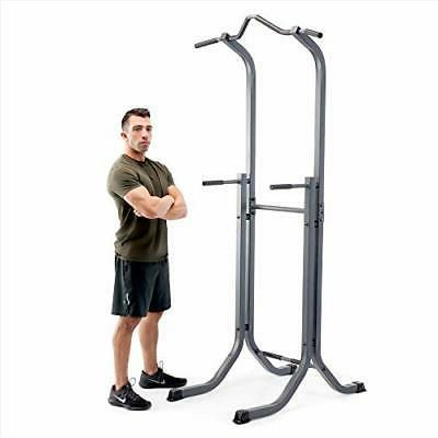 Marcy Power Tower Multi-Functional Home Gym Pull Up Chin Up