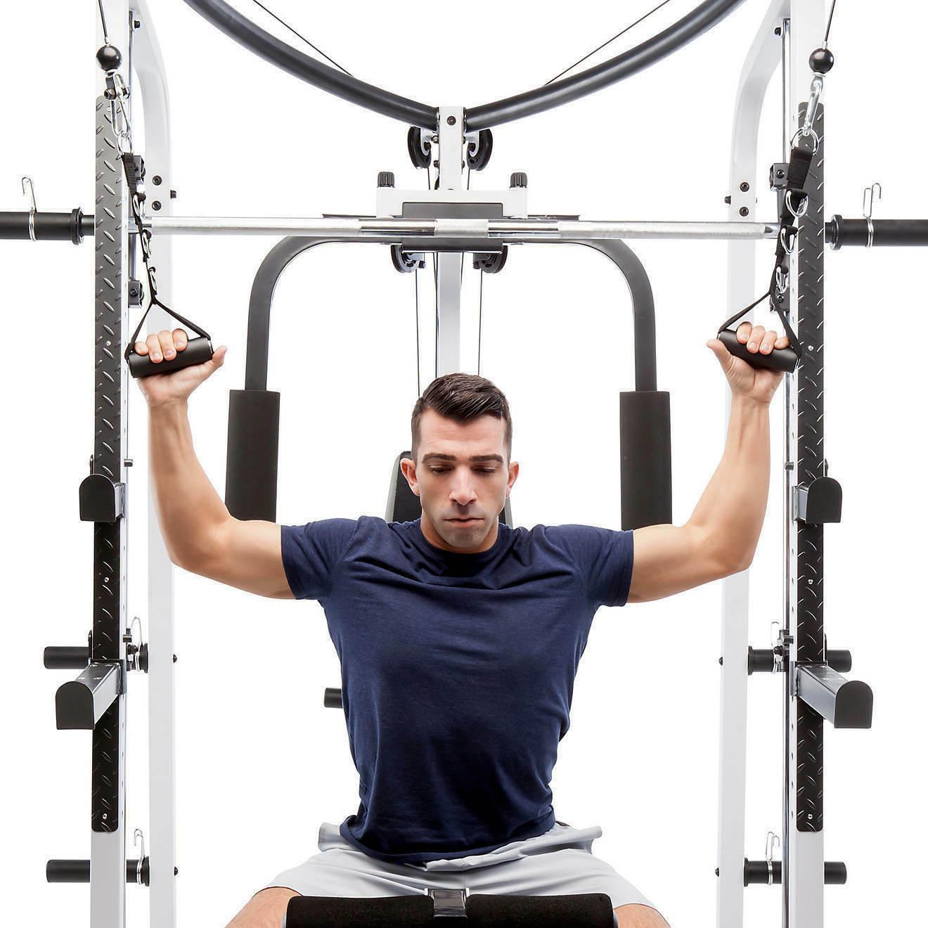 🏷️Payless Marcy® Pro MD-5191 Smith Cage Home Gym NEWES