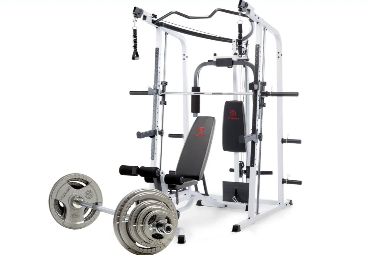 md 5191 300 lbs weight set smith
