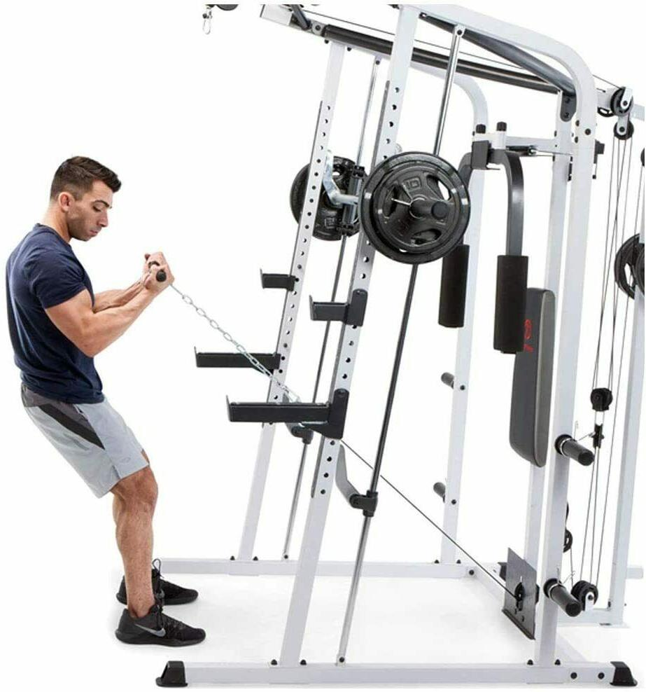 MARCY HOME GYM SMITH CAGE NEW SHIPPING