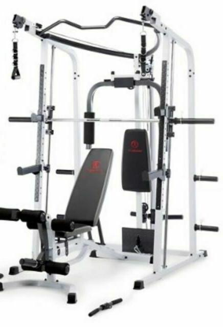 Marcy + 300 lbs weight Cage Home - Ship FREE