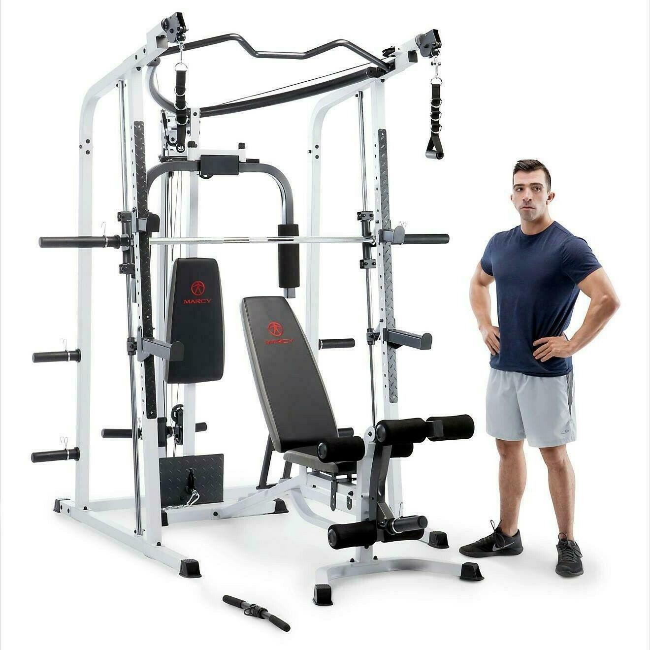 new md 5191 smith cage home gym