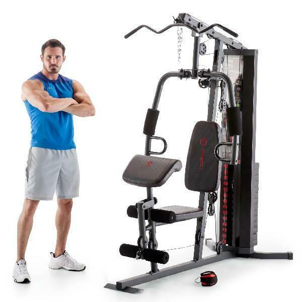 Marcy MWM-990 Multifunctional Home Gym for Total Body Training