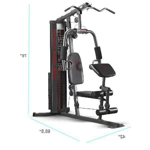 mwm 990 150 lb multifunctional home gym