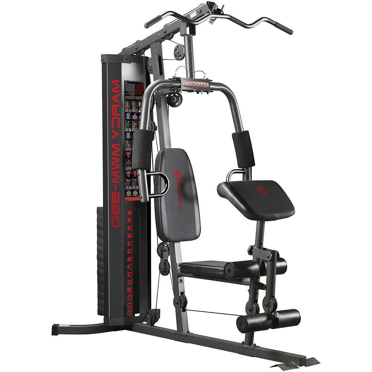 new 150lb stack home gym mwm 990