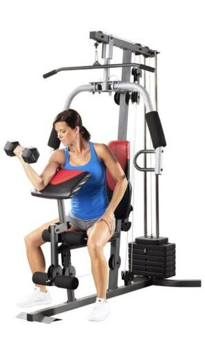 NEW Home Gym Fitness Machine Exercise Workout Weights Bench System
