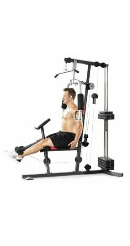 NEW Home Exercise Workout Weights Bench System