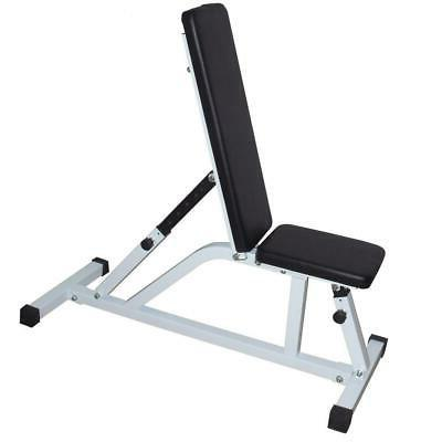 New 8-Position Weight Bench Decline Home Gym Exercise Fitness
