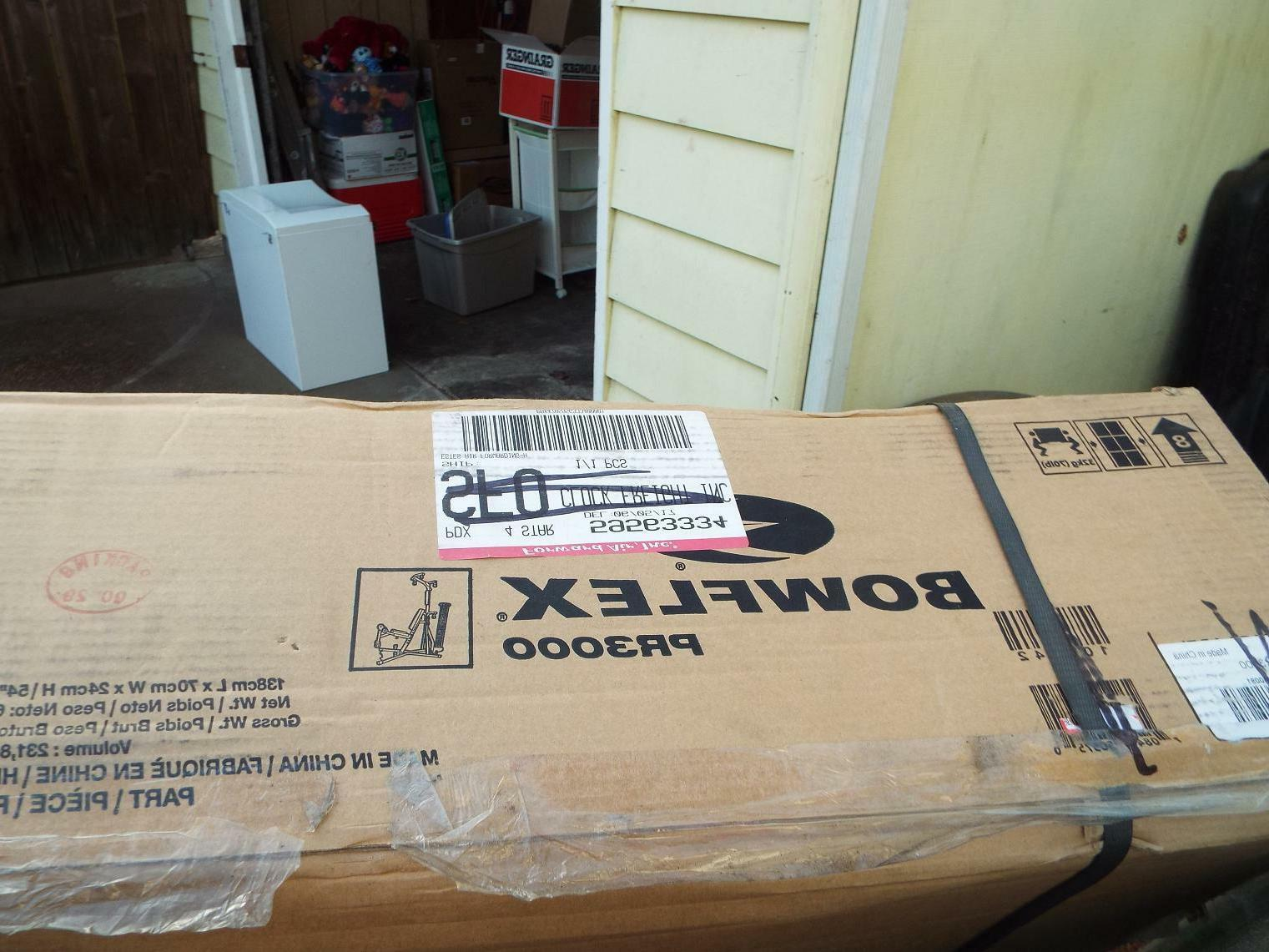 NEW Bowflex PR3000 Home Gym and 210 Rod