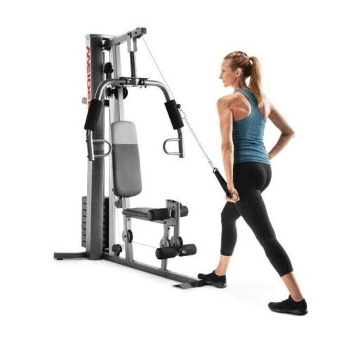 NEW Home Gym Exercise Weights System