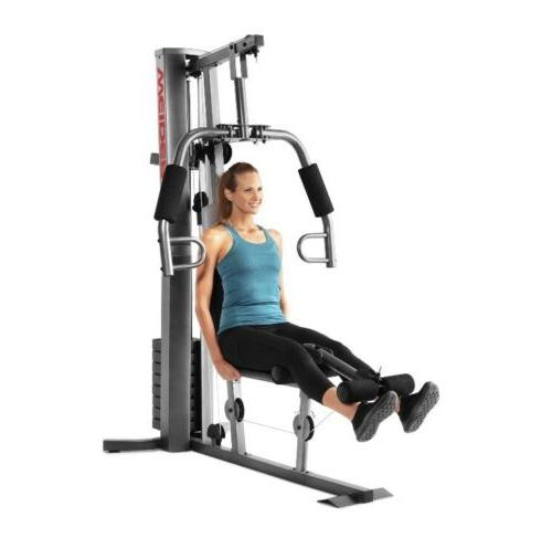 NEW WEIDER 50 Home Fitness Exercise Workout Weights System