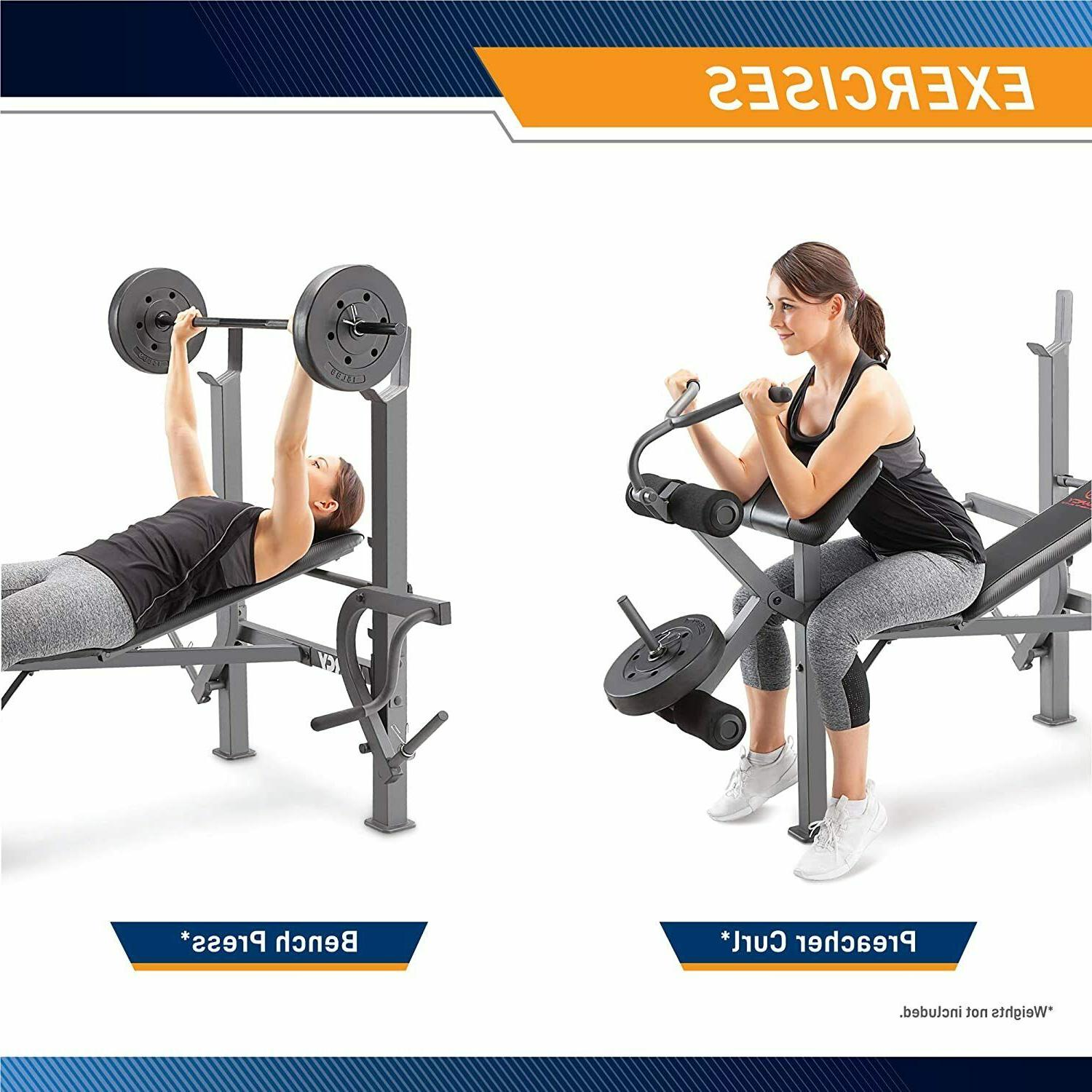MARCY Body Utility Weight Home Gym Heavy Equipment