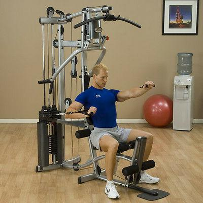 Powerline Home Gym with Leg Machine