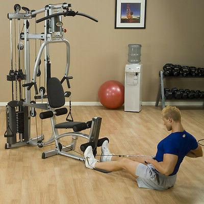 Powerline P2LPX with Leg Weight Exercise Cable