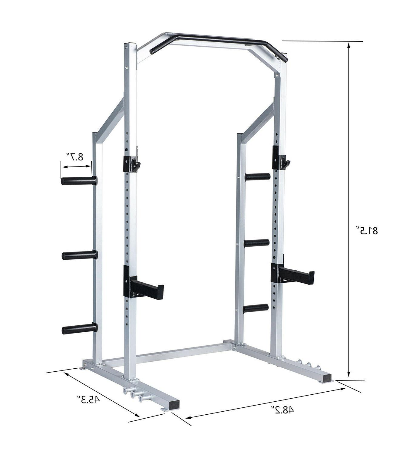 Power Weight Lifting Squat Home Gym