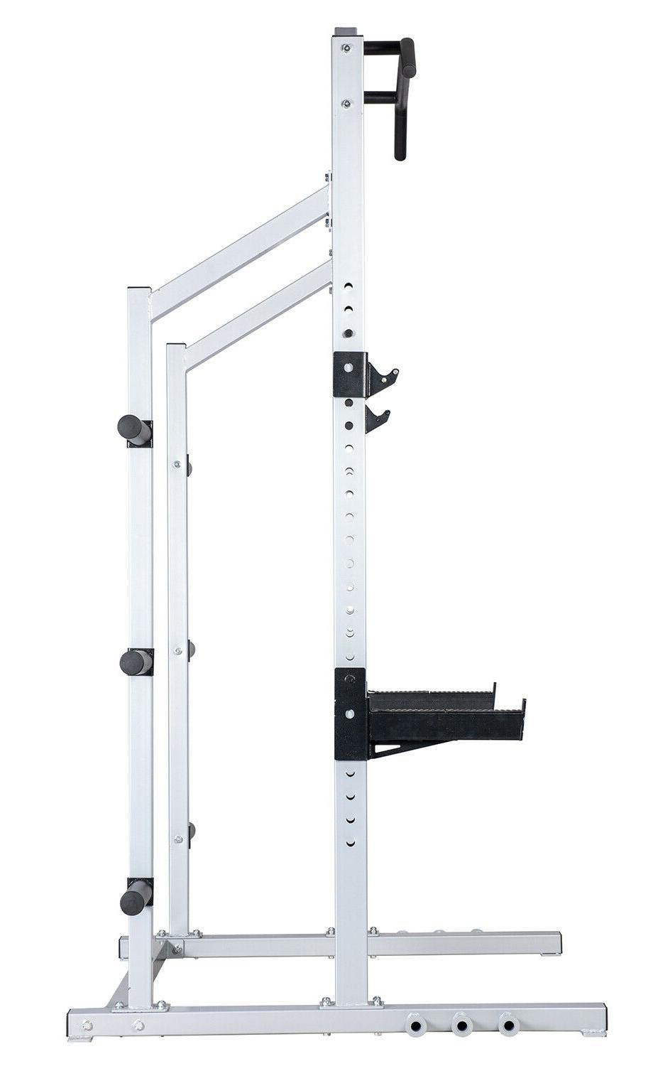 Power Rack Weight Squat Training Home Gym Cage