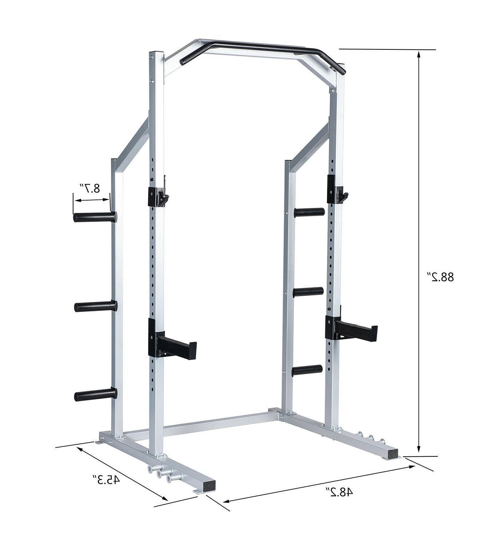 Power Rack Squat Stand Strength Home Gym