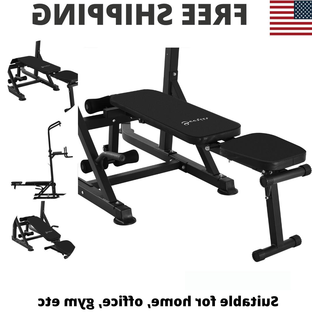 Power Tower Pullup Weight Adjustable Home Gym
