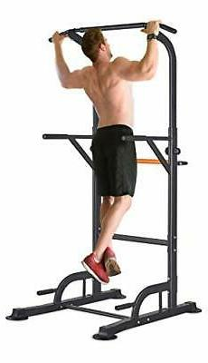 RELIFE REBUILD YOUR LIFE Power Tower Pull Up Dip Station for