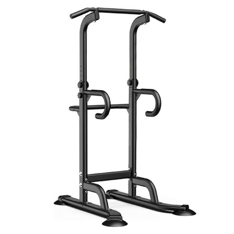 Fitness Dip Station Chin Up Bar Power Tower Pull Push Home G