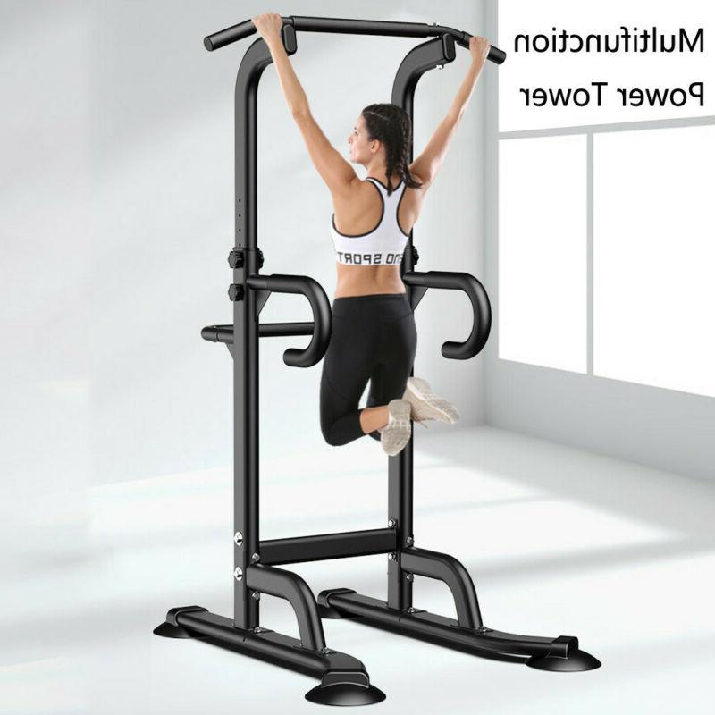 Adjustable Power Up Dip Gym Workout