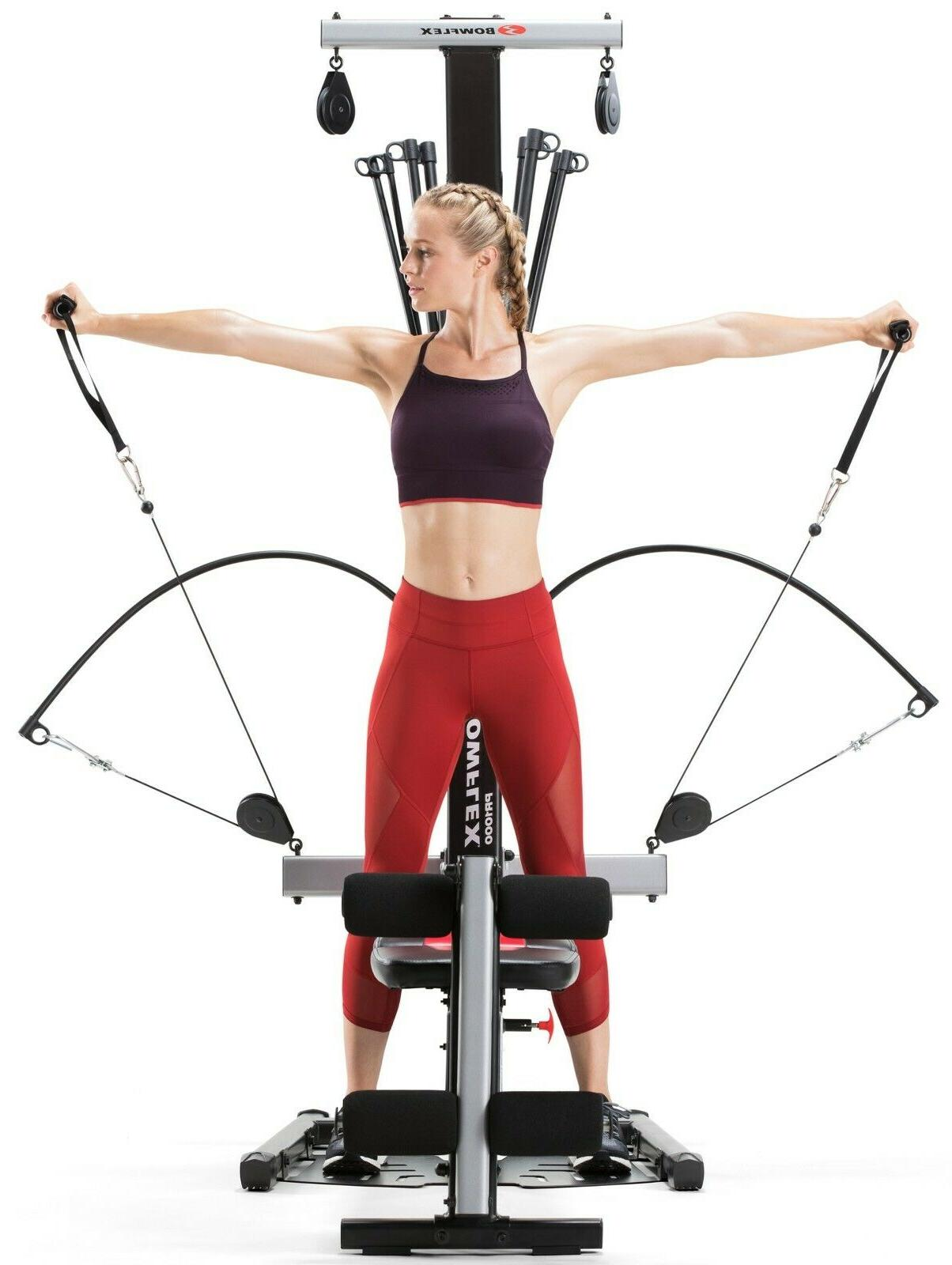 Bowflex Gym with 25+ exercises and rod