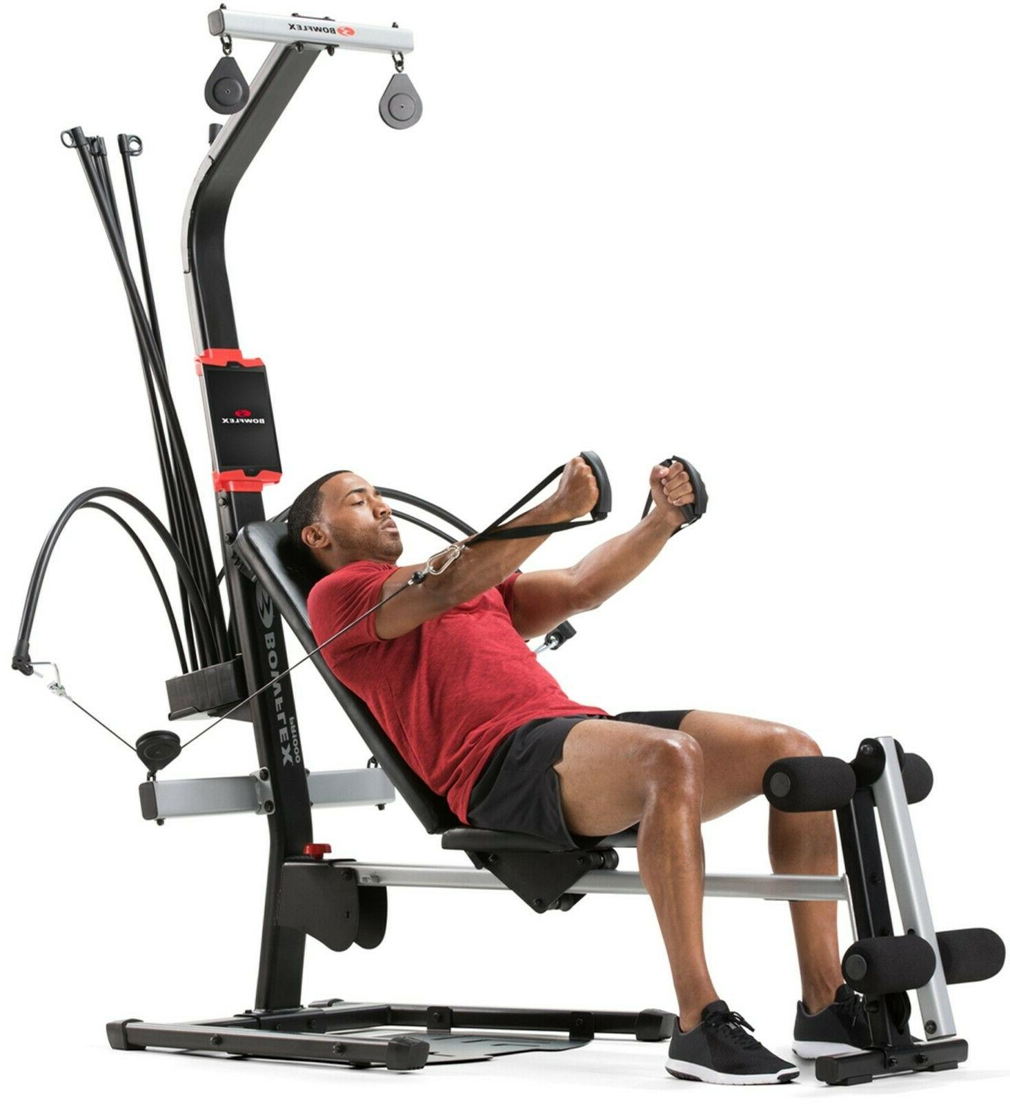 Bowflex 1000 Gym 25+ exercises and lbs. power rod resistance