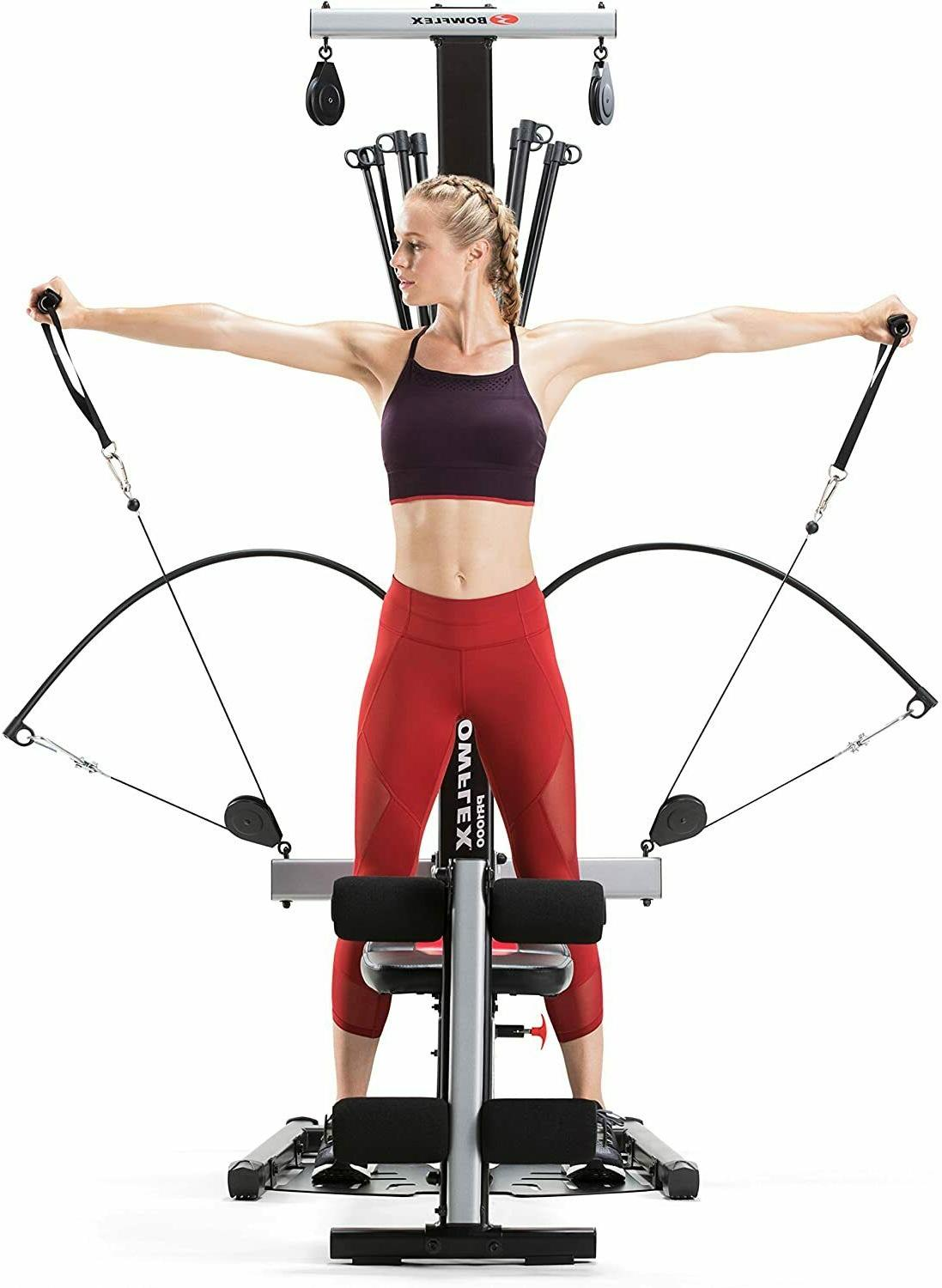 Bowflex Home PR1000 0ver exercises