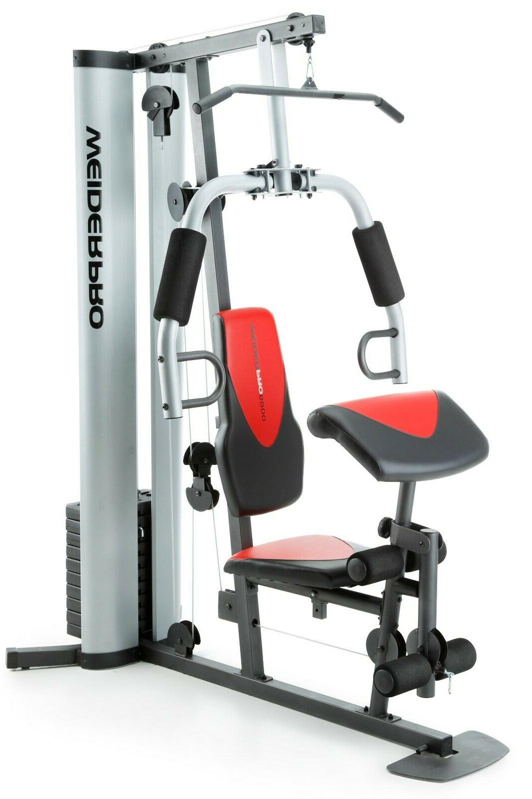PRO Gym Weight Workout Machine Strength Training Fitness Exe