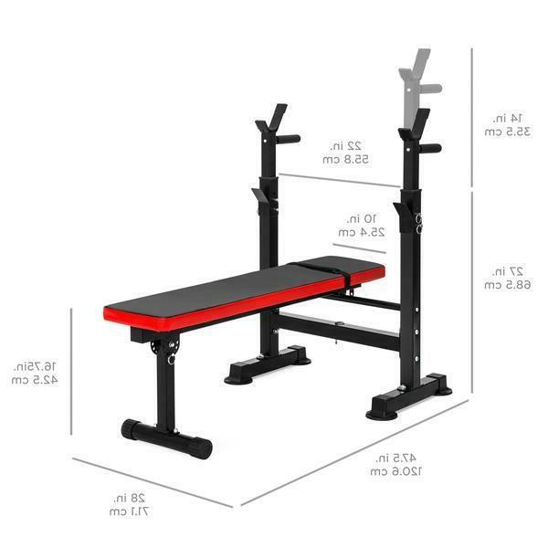 Pro Home Gym Bench Position Workout Lifting