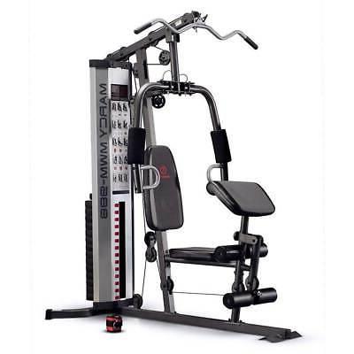 pro mwm 988 home gym system 150