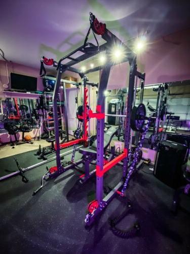 pro smith machine home gym training system