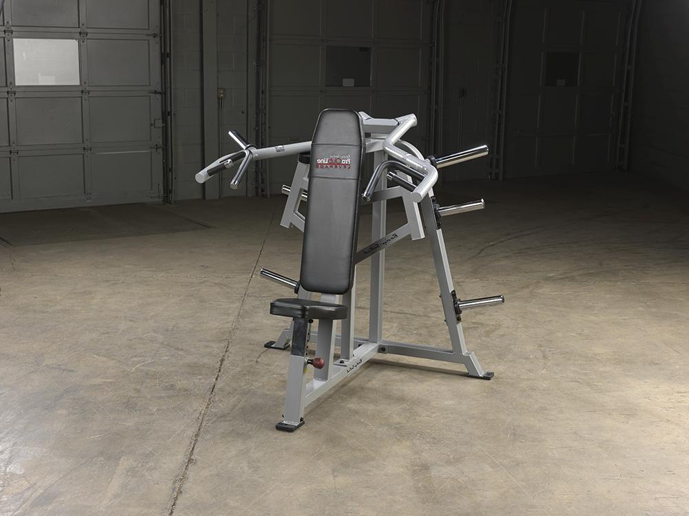 proclubline leverage shoulder press