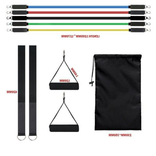 Resistance Bands Set Pilates 105 Lbs for Gyms