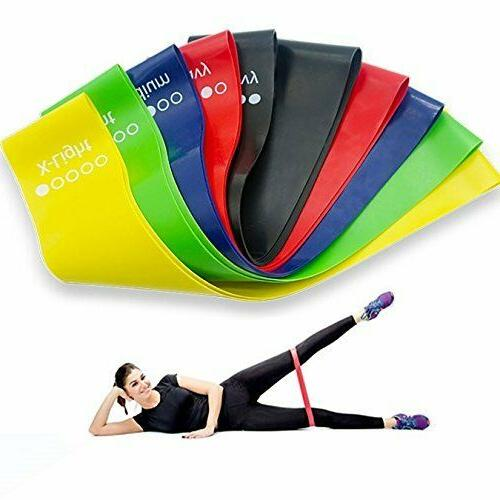 resistance workout bands for exercise yoga gym