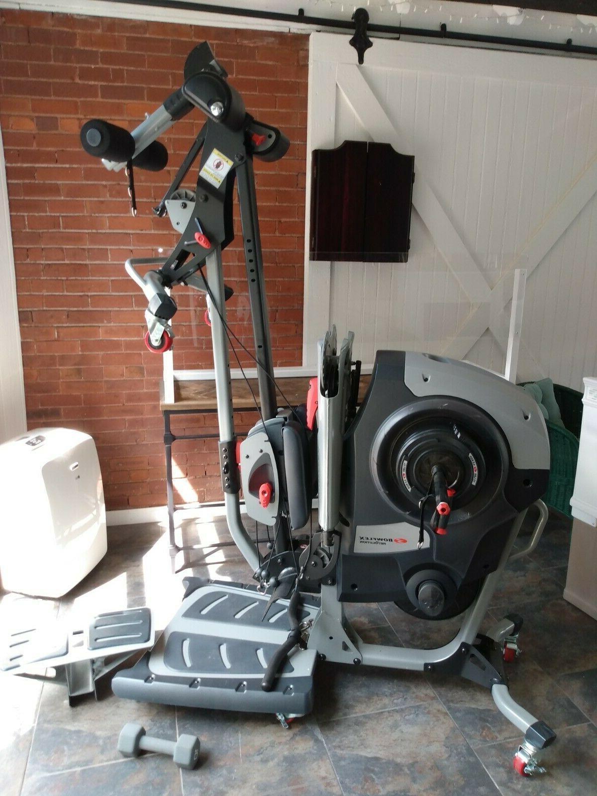 revolution home gym 2020 model w attachments