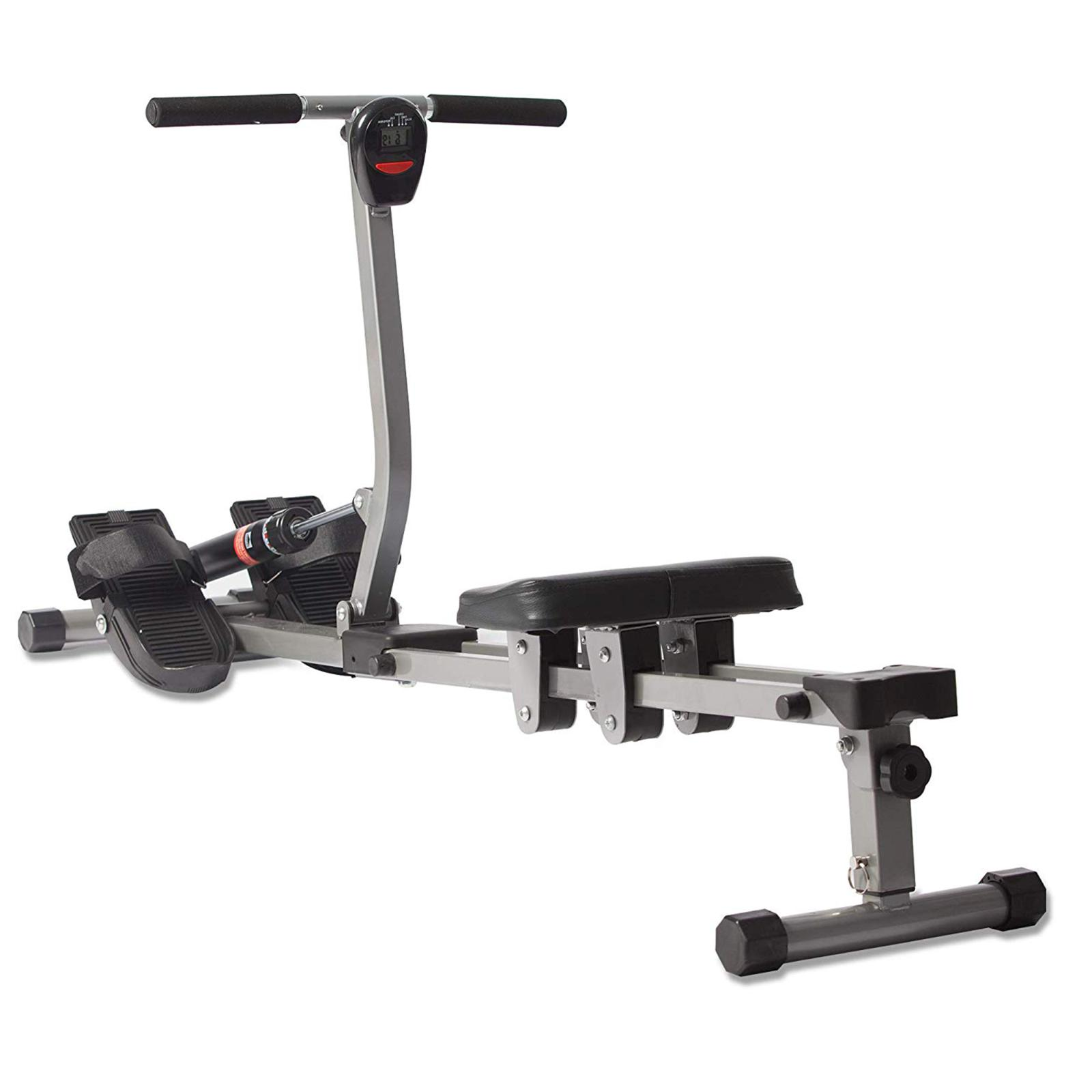rowing machine 12 resistance levels home gym