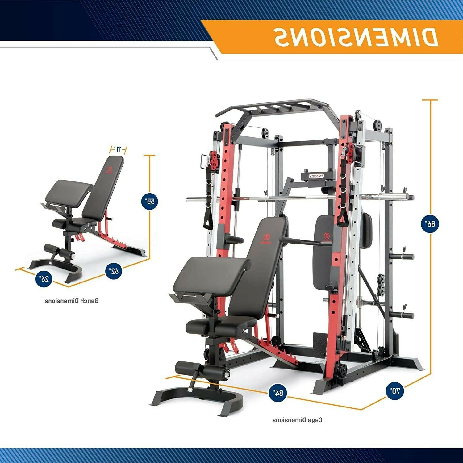 Marcy System Gym Rack, Customizable