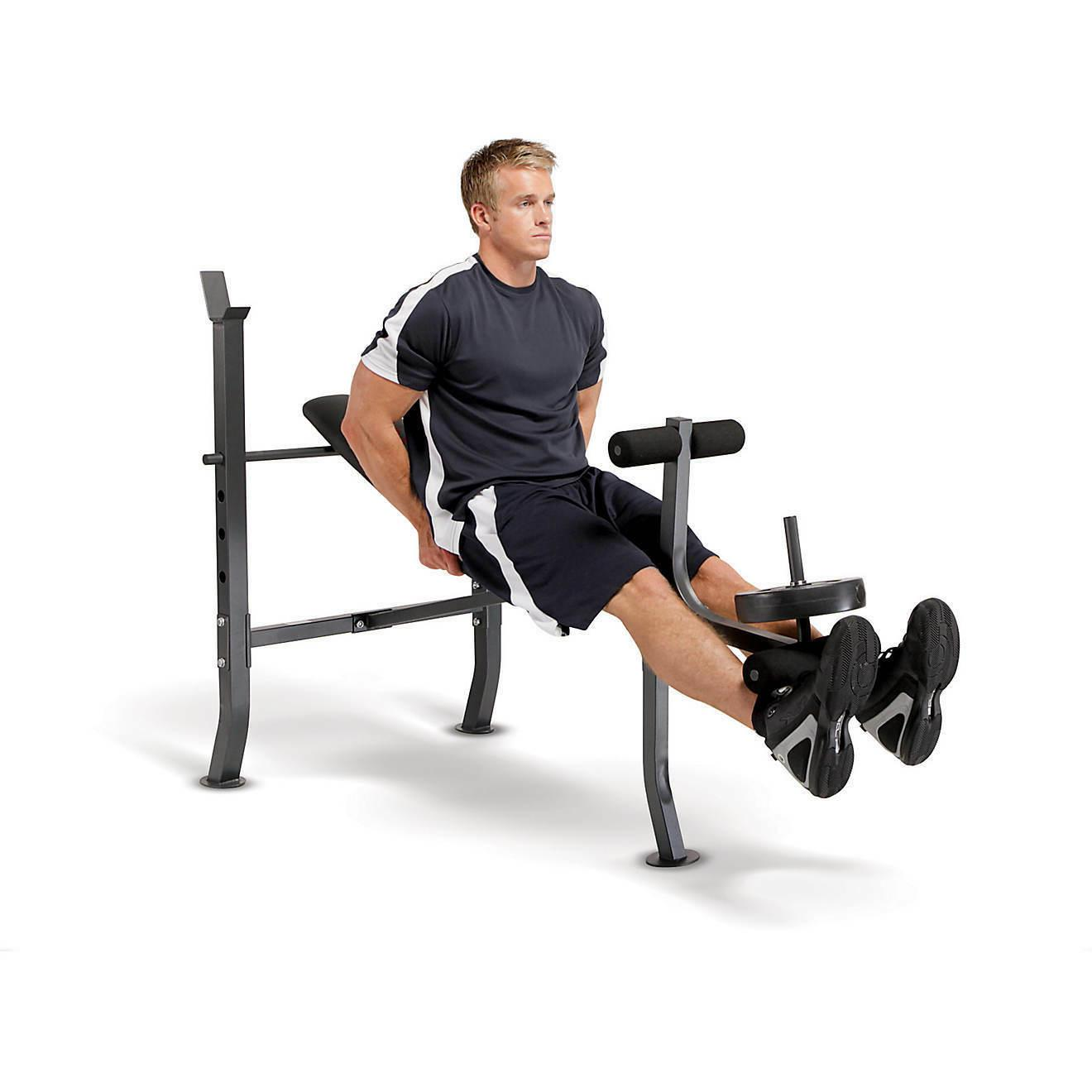 Bench with 100lb Set Home