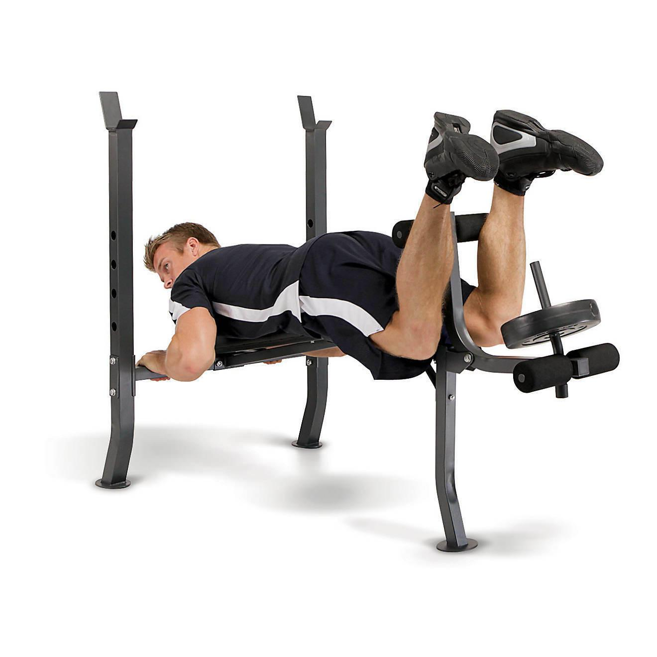 Marcy Adjustable Weight Bench with Weight Set Home