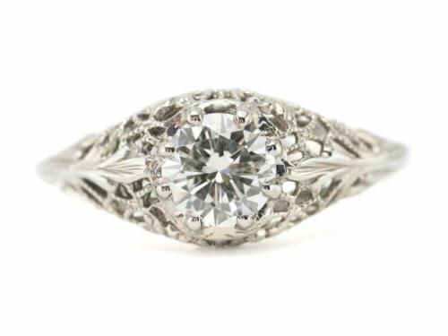 the marcy diamond solitaire ring by elizabeth