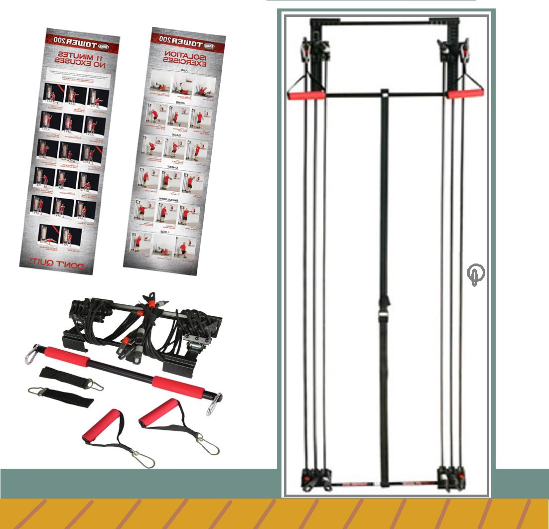 NEW Body By Jake Tower 200 Fitness + DVD + Free Straight