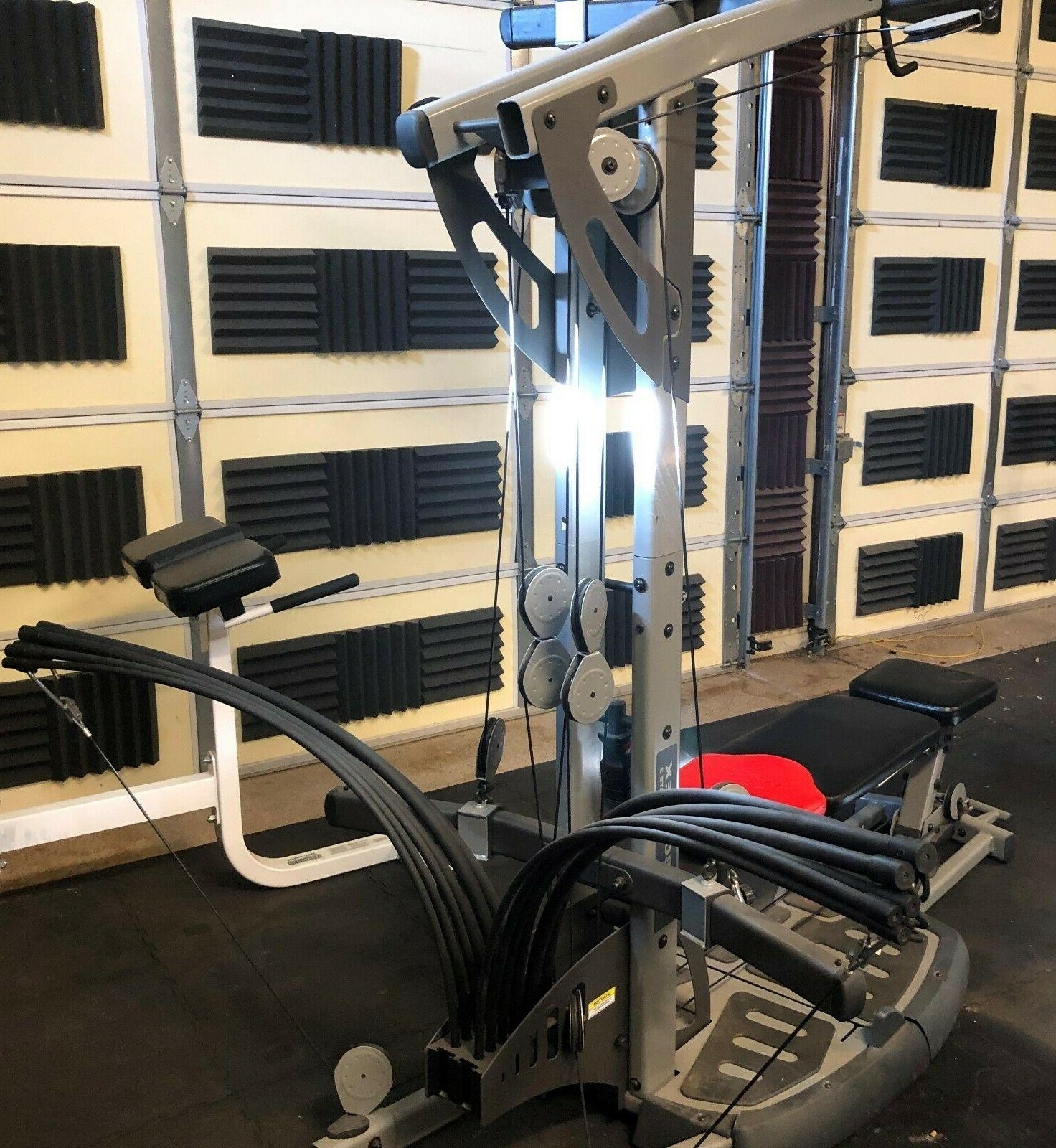 Bowflex Gym. Great All accessories