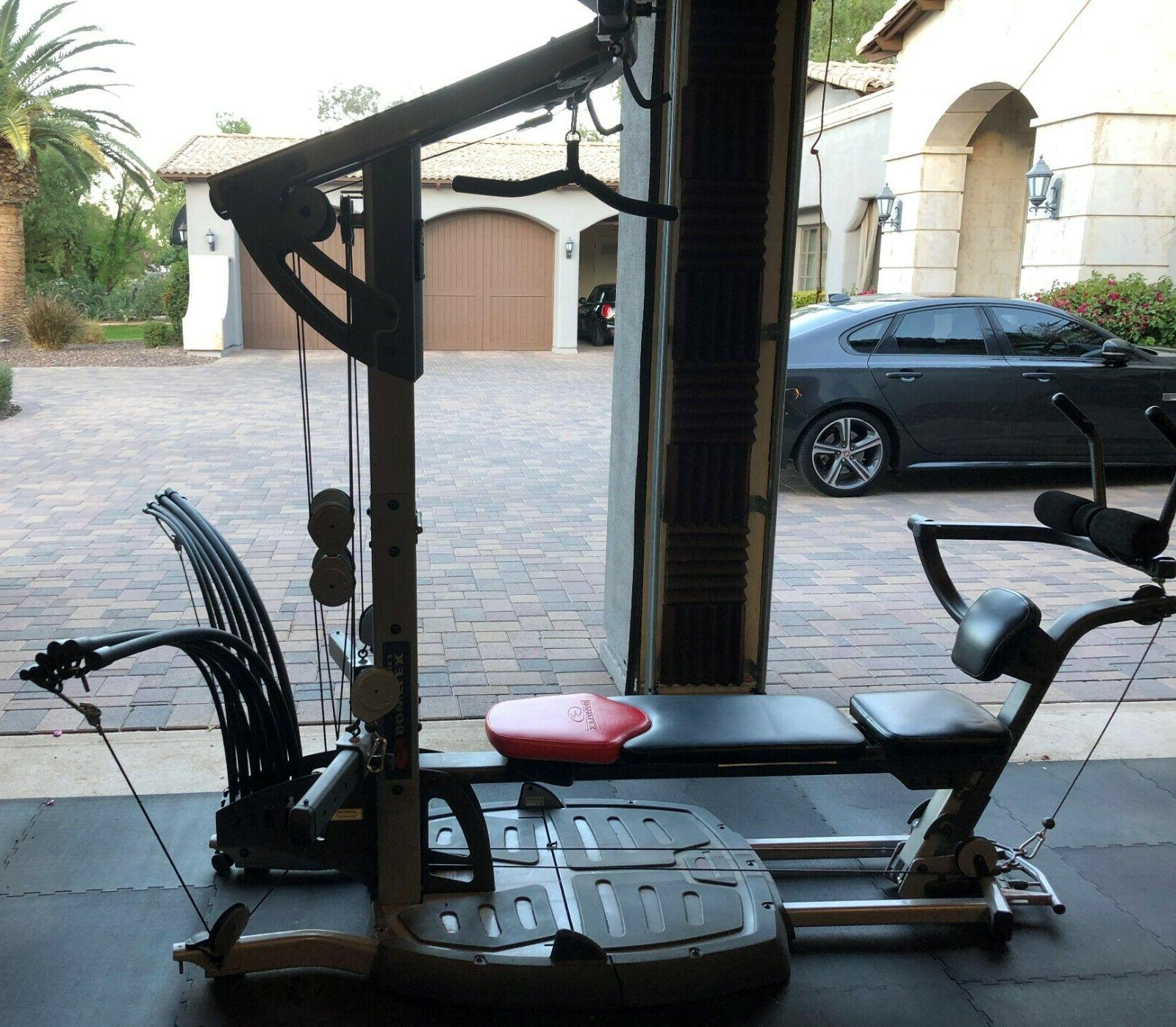 ultimate 2 home gym great condition all