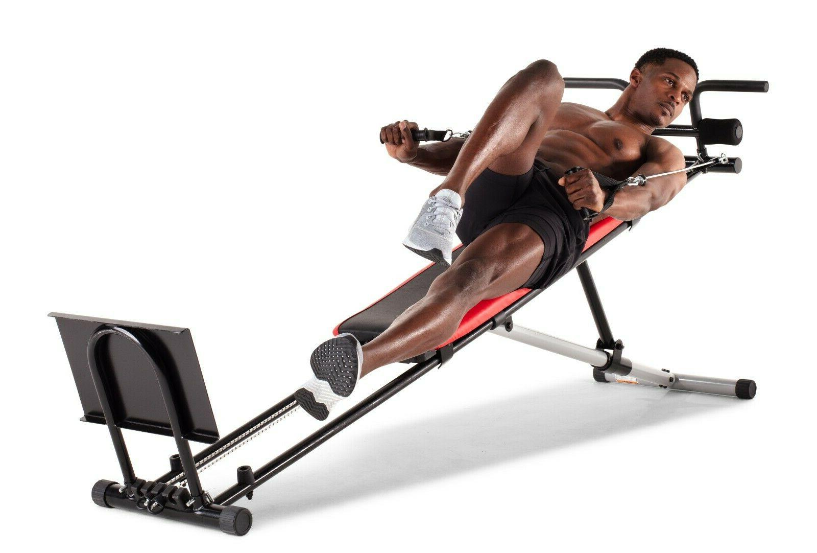 Ultimate w/ Workout Incline Home Gym Exercise
