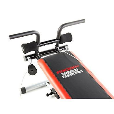 Weider Ultimate Works Adjustable Bench